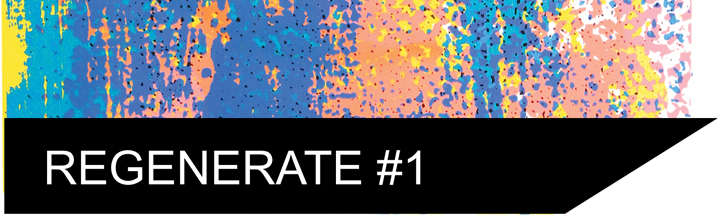 Regenerate #1, A way of screen printing