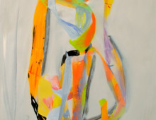 Tape Figure Painting